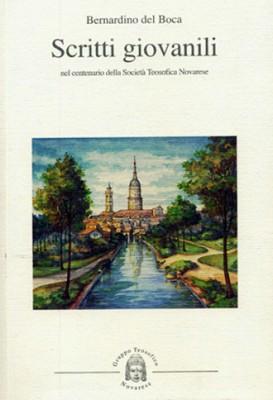 Scritti giovanili, Bernardino del Boca